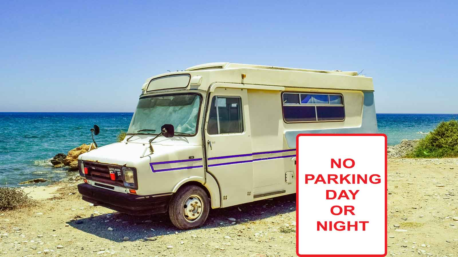 Wohnmobil-Strand-no-parking