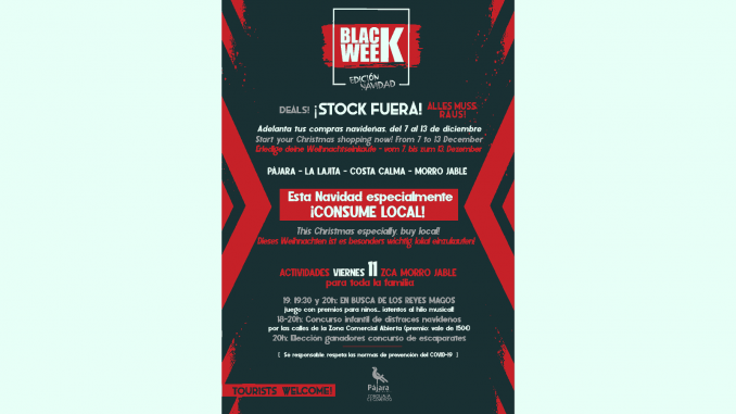 Cartel-Black-Week-Pajara